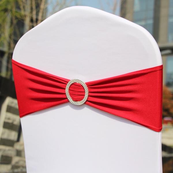 宴会椅(大红色背花)12